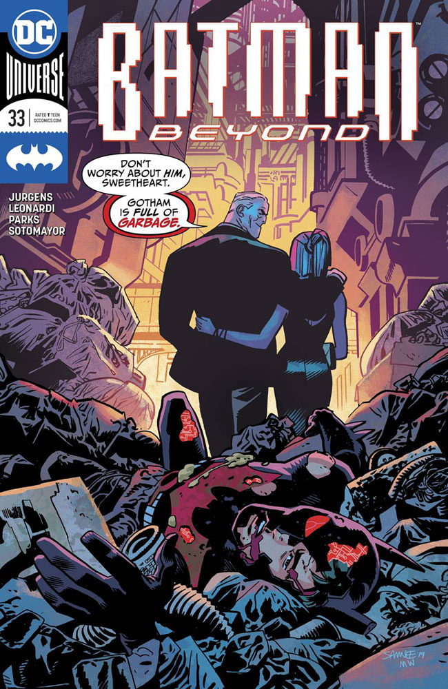 Image: Batman Beyond #33 - DC Comics