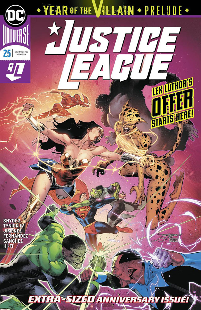 Image: Justice League #25 - DC Comics