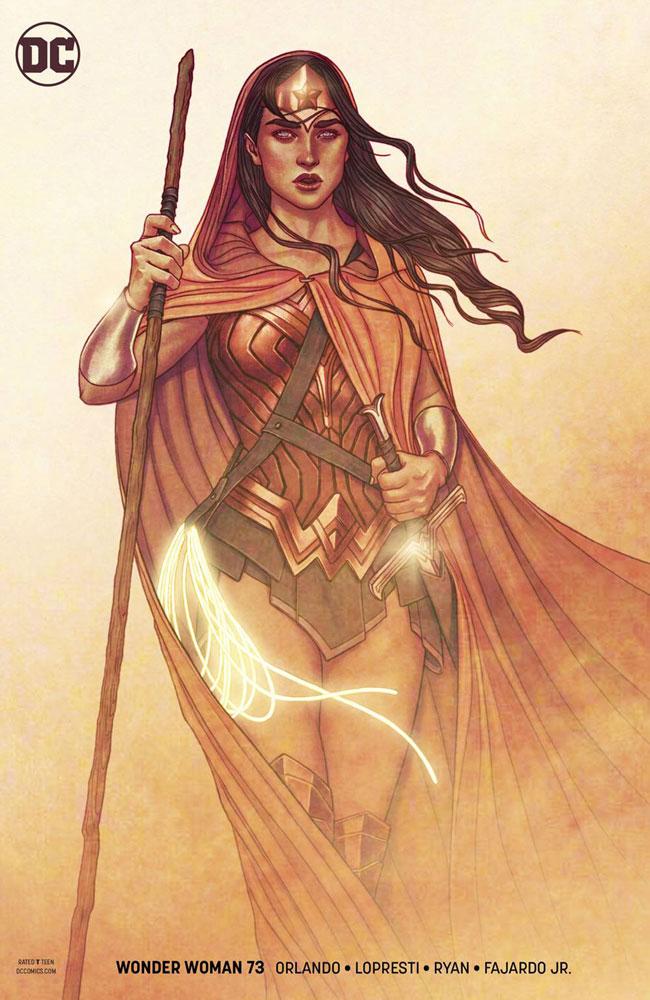 Wonder Woman #53 Frison Variant