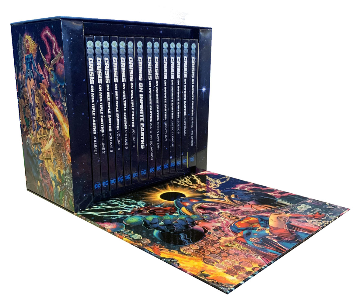 Crisis on Infinite Earths Box Set HC  - DC Comics