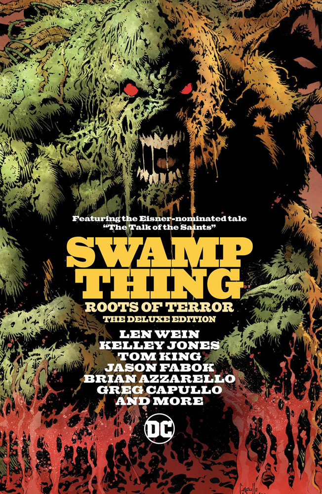 Image: Swamp Thing: Roots of Terror: The Deluxe Edtion HC  - DC Comics