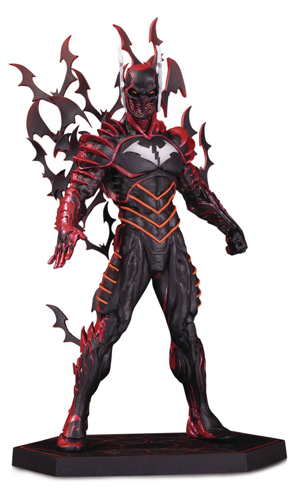 Image: Dark Knights Metal Statue: Batman the Red Death  - DC Comics