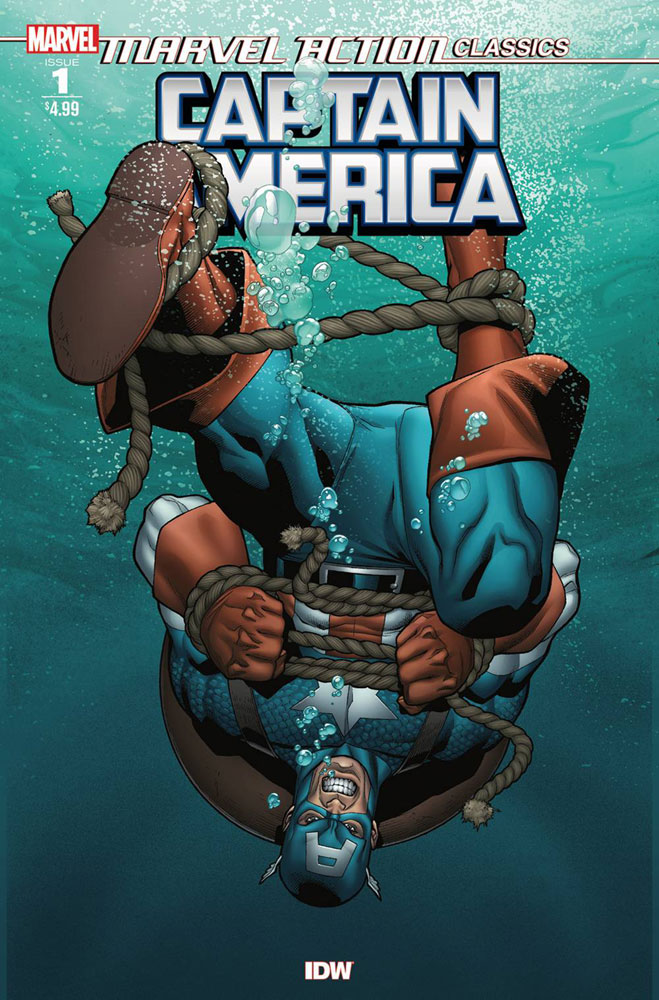 Image: Marvel Action Classic: Captain America  - IDW Publishing