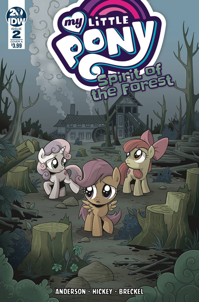 Image: My Little Pony: Spirit of the Forest #2 (cover A - Hickey) - IDW Publishing