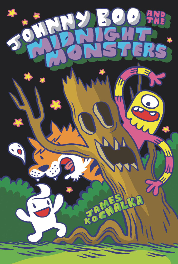 Image: Johnny Boo and the Midnight Monsters HC  - IDW - Top Shelf