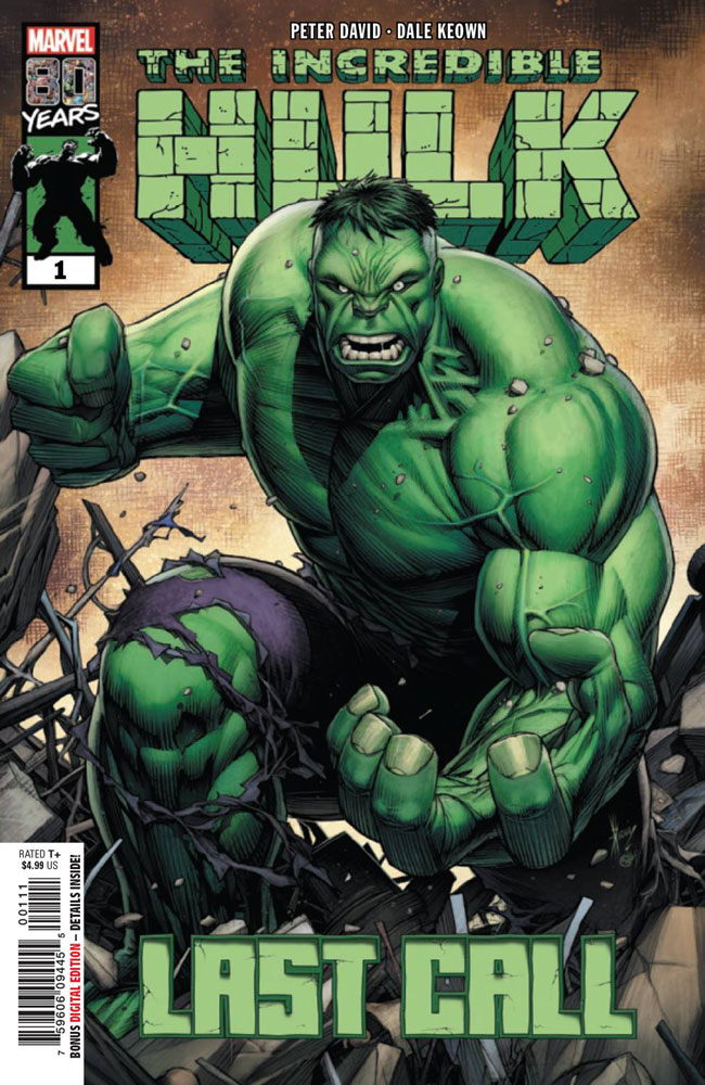 Image: Incredible Hulk: Last Call #1 - Marvel Comics