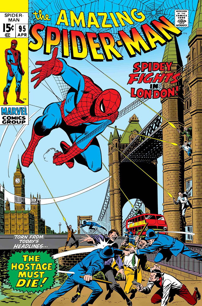 Image: True Believers: Spider-Man - Spidey Fights in London #1 - Marvel Comics