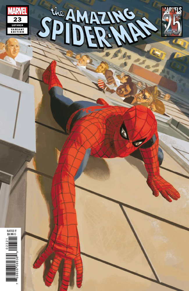 Image: Amazing Spider-Man #23 (variant Marvels 25th Tribute cover - Acuna)  [2019] - Marvel Comics