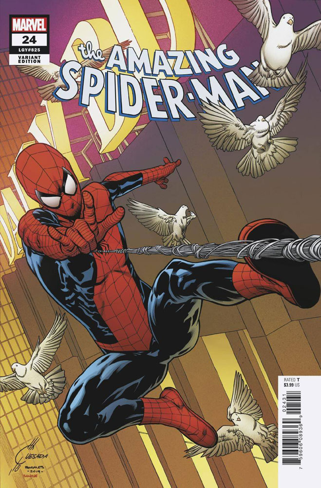 Image: Amazing Spider-Man #24 (variant cover - Joe Quesada)  [2019] - Marvel Comics