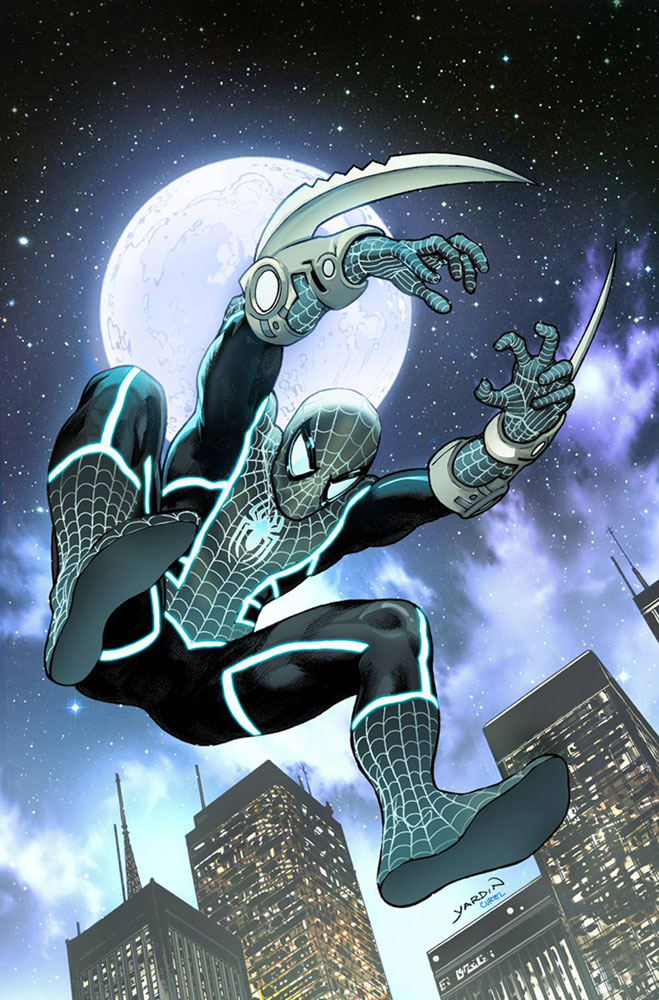 Image: Doctor Strange #16 (variant Spider-Man Stealth Suit cover - David Yardin) - Marvel Comics