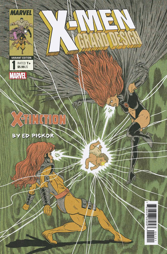 Image: X-Men: Grand Design - X-Tinction #2 (variant cover) - Marvel Comics
