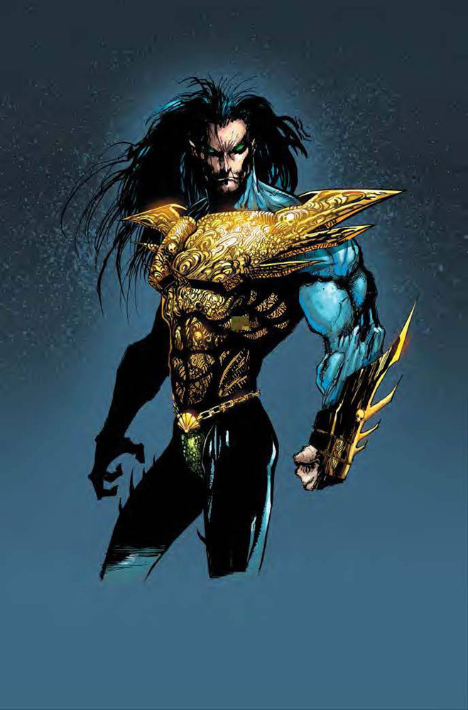 Image: Namor: Sub-Mariner by John Byrne and Jae Lee Omnibus HC  (DM variant) - Marvel Comics