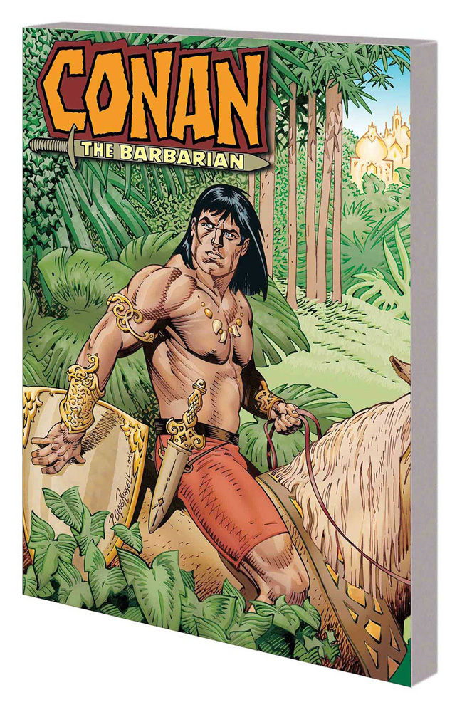 Image: Conan: The Jewels of Gwahlur and Other Stories SC  - Marvel Comics