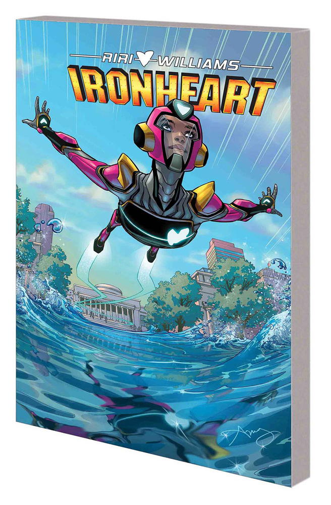 Image: Ironheart Vol. 01: Those with Courage SC  - Marvel Comics