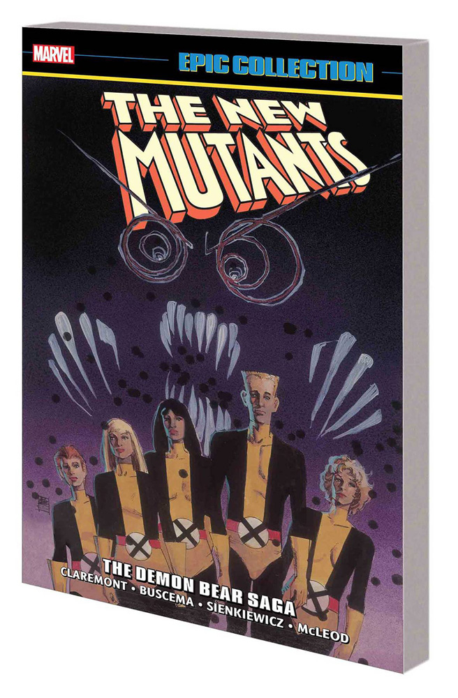 Image: New Mutants Epic Collection: Demon Bear Saga SC  - Marvel Comics