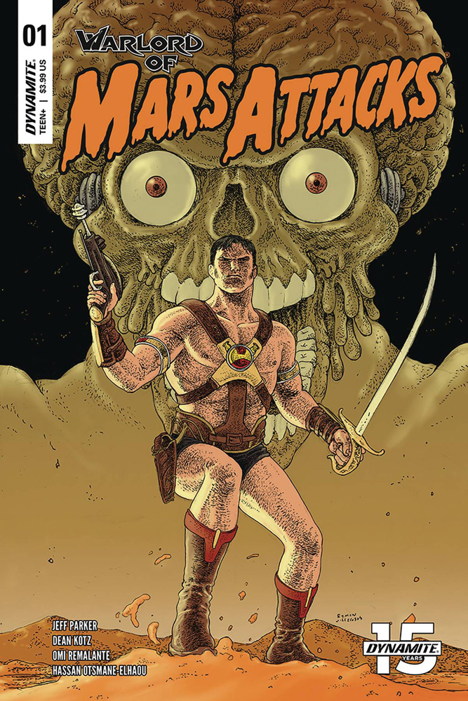 Warlord of Mars Attacks #1 Ramon Villalobos cover
