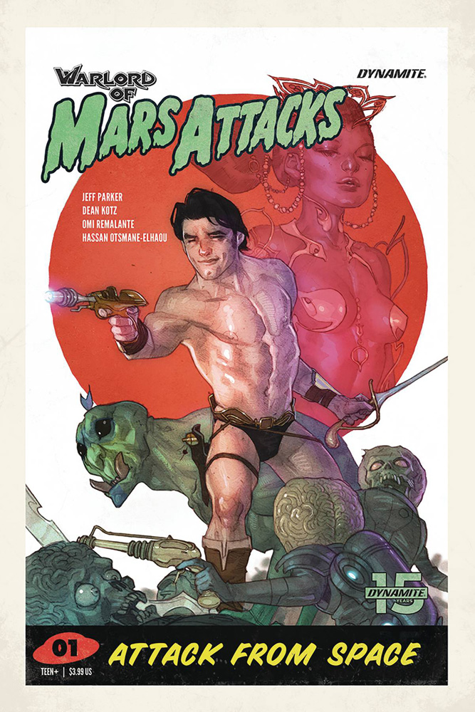 Warlord of Mars Attacks #1 Ben Caldwell cover