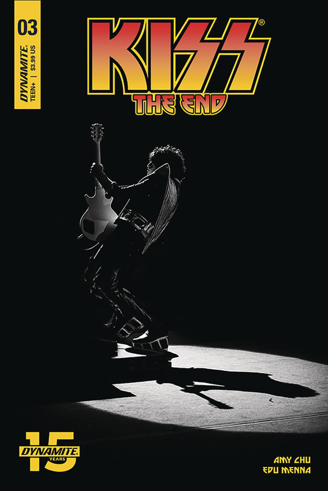 Image: Kiss: The End #3 (cover D - Photo) - Dynamite