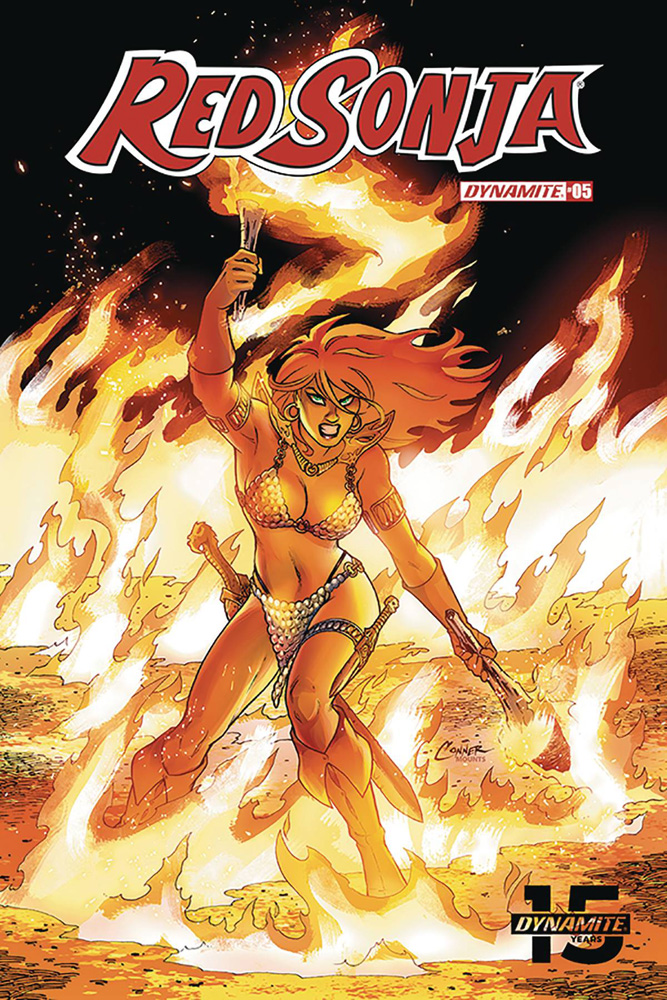 Image: Red Sonja Vol. 05 #5 (cover A - Conner) - Dynamite