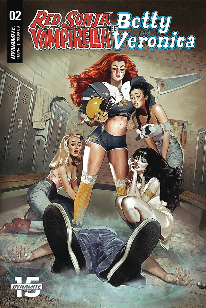 Image: Red Sonja and Vampirella Meet Betty and Veronica #2 (cover A - Dalton)  [2019] - Dynamite