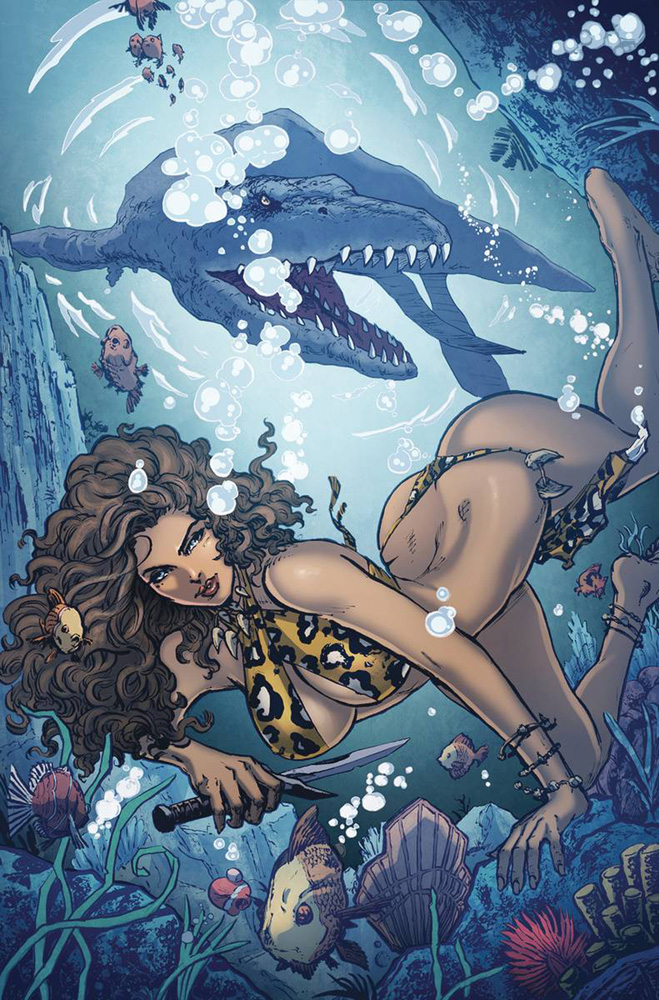 Image: Cavewoman: Riptide  (Mario Gully Special Edition cover F) - Amryl Entertainment