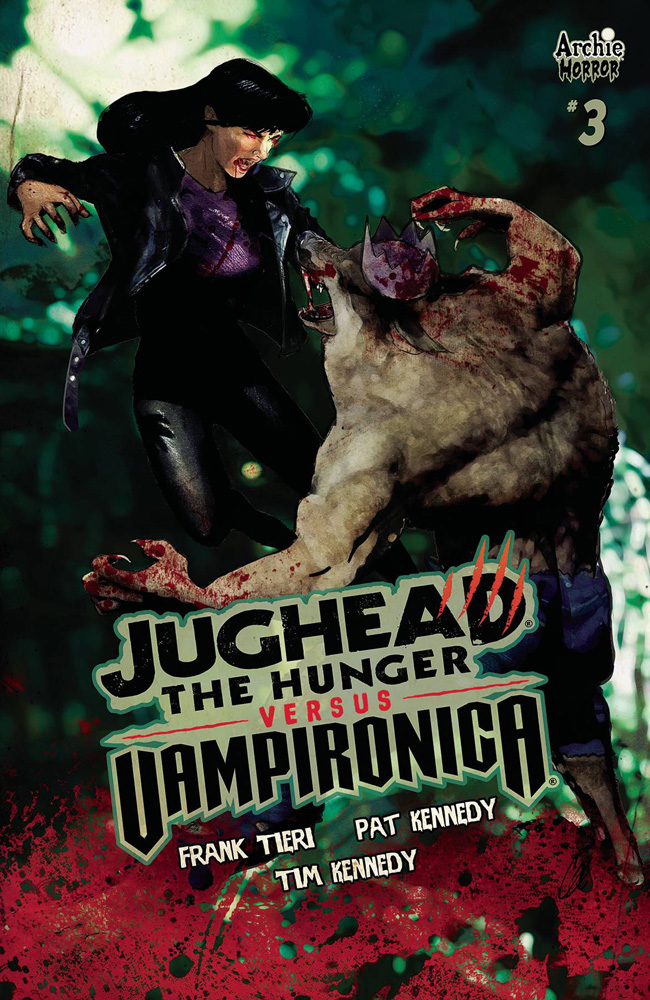 Image: Jughead the Hunger vs. Vampironica #3 (cover C - Staggs) - Archie Comic Publications