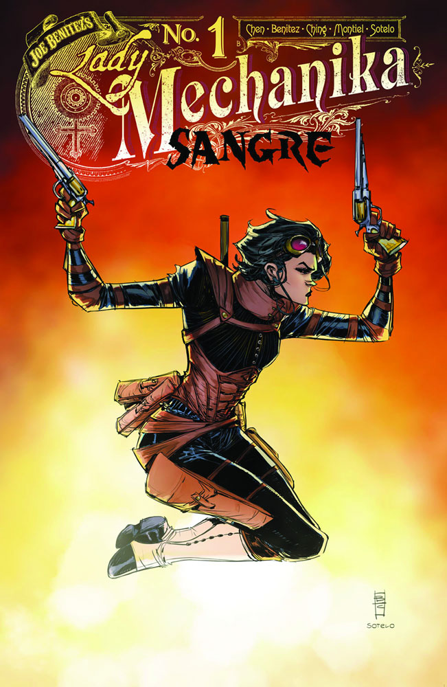 Lady Mechanika: Sangre #1  [2019] - Benitez Productions