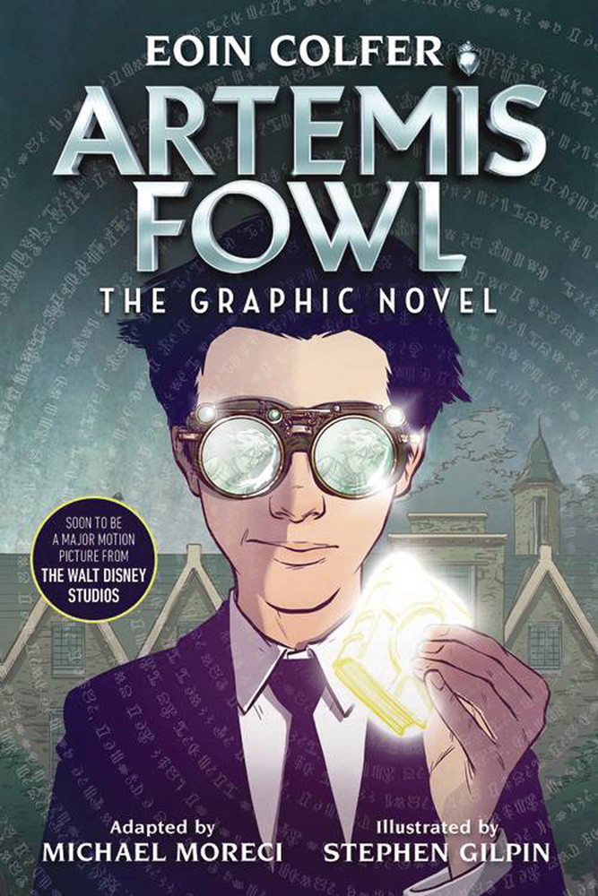 Image: Artemis Fowl: The Graphic Novel SC  (Movie edition) - Disney - Hyperion