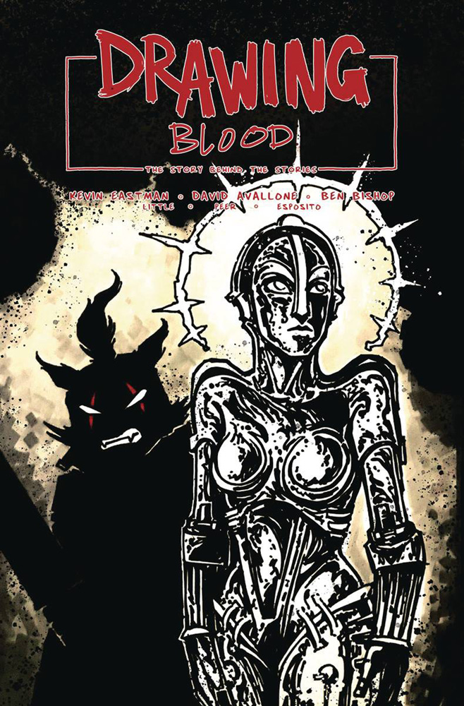 Image: Drawing Blood #2 (cover B - Eastman) - Kevin Eastman Studios