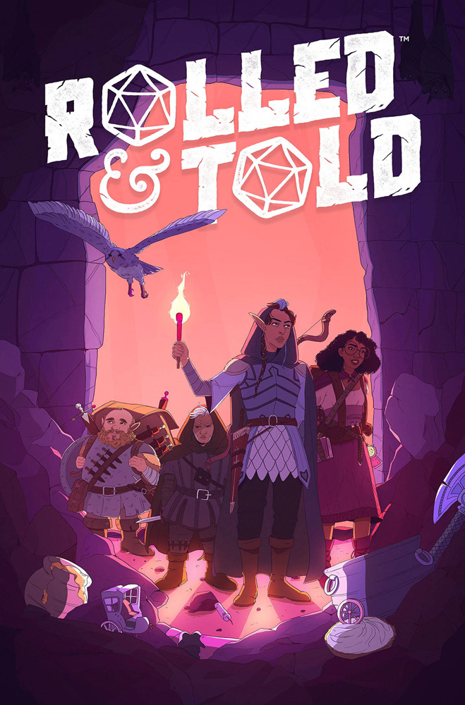 Image: Rolled & Told #10 - Lion Forge