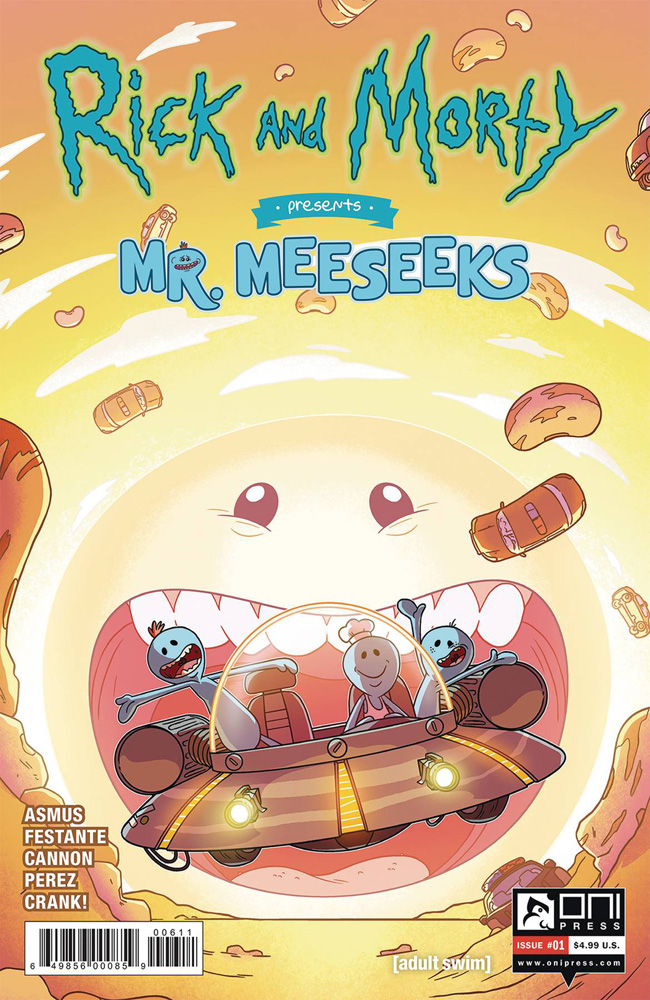 Image: Rick and Morty Presents: Mr. Meeseeks #1 (cover A - CJ Cannon)  [2019] - Oni Press Inc.