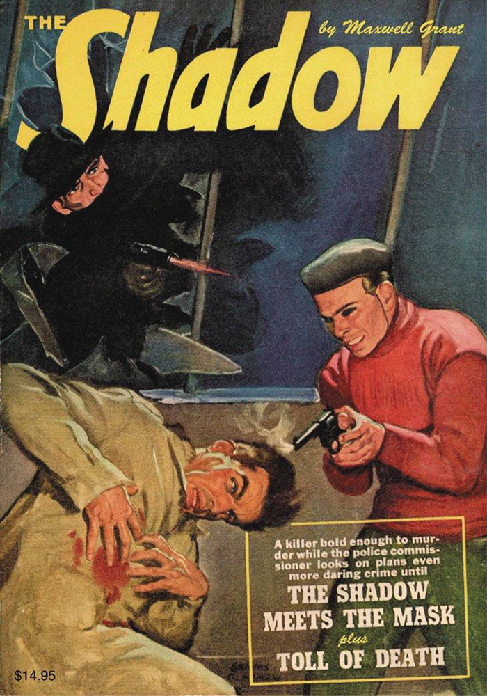 Image: Shadow #143: The Shadow Meets the Mask / Toll of Death SC  - Sanctum Productions