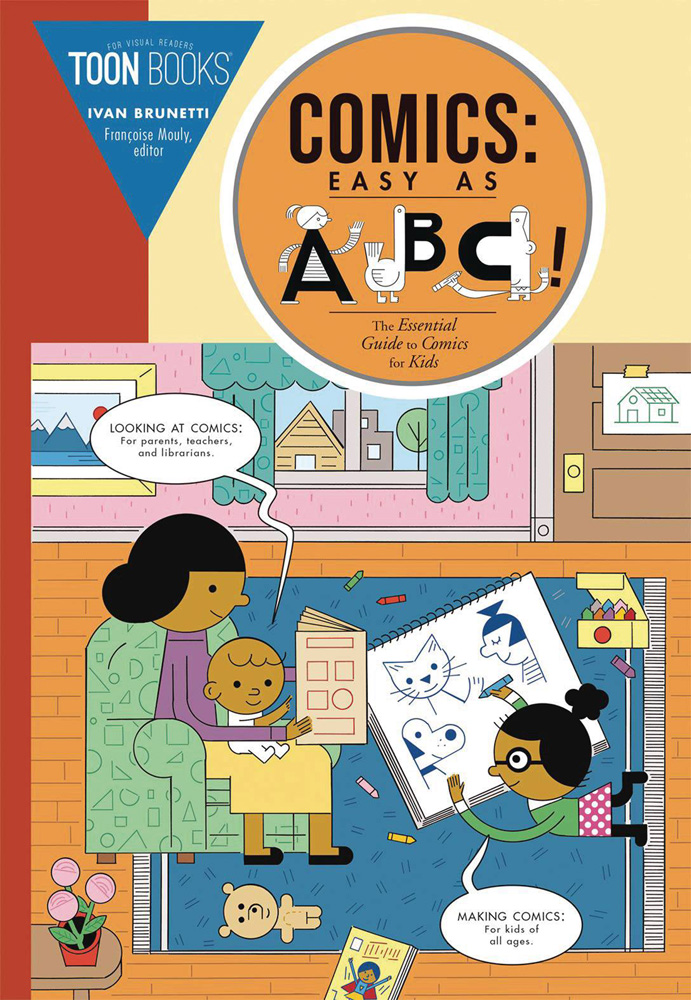 Image: Comics: Easy as ABC SC  - Toon Books