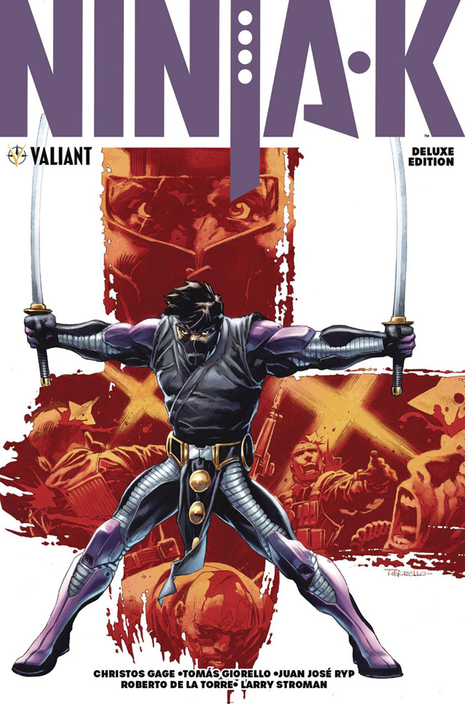 Image: Ninja-K Deluxe Edition HC  - Valiant Entertainment LLC