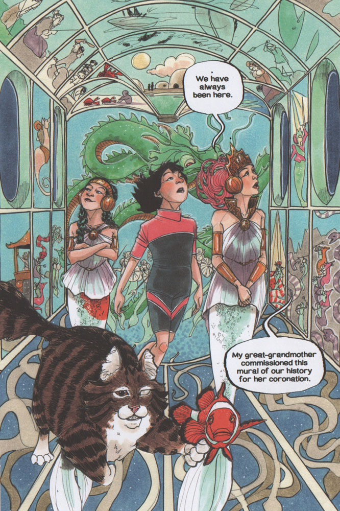 Sea Sirens: A Trot & Cap'n Bill Adventure SC  - Viking Books For Young Readers