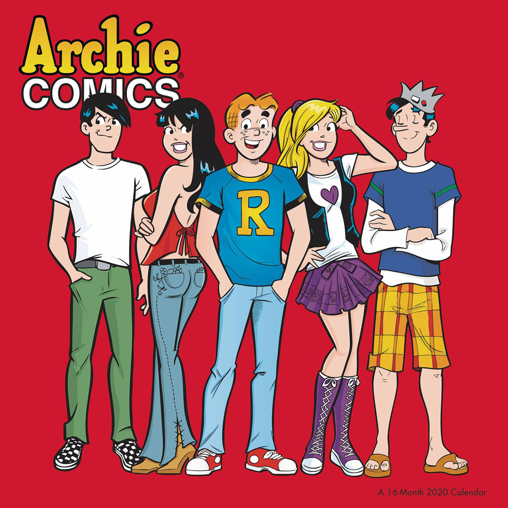 Image: Archie Comics 2020 Wall Calendar  - Landmark Calendars