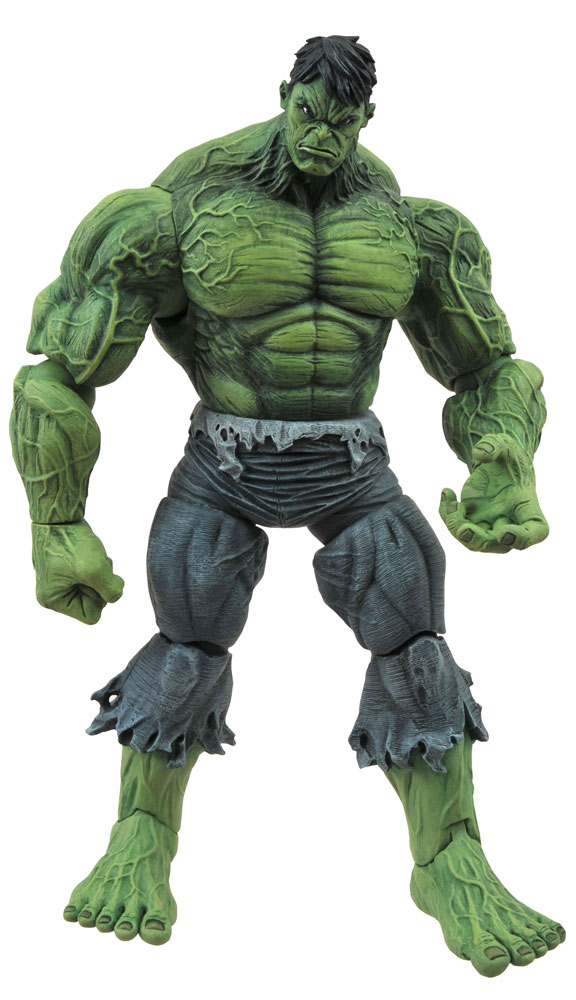 Marvel Select Action Figure: Unleashed Hulk  - Diamond Select Toys LLC
