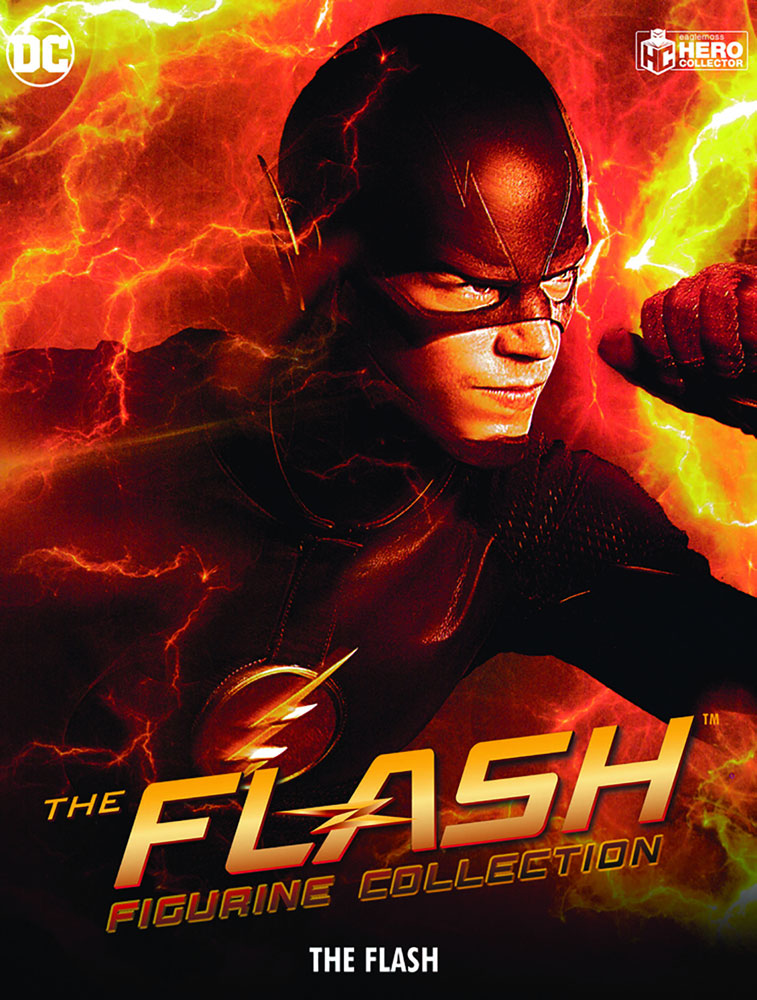 DC CW Flash Figure Collectible #1 (Flash) - Eaglemoss Publications Ltd