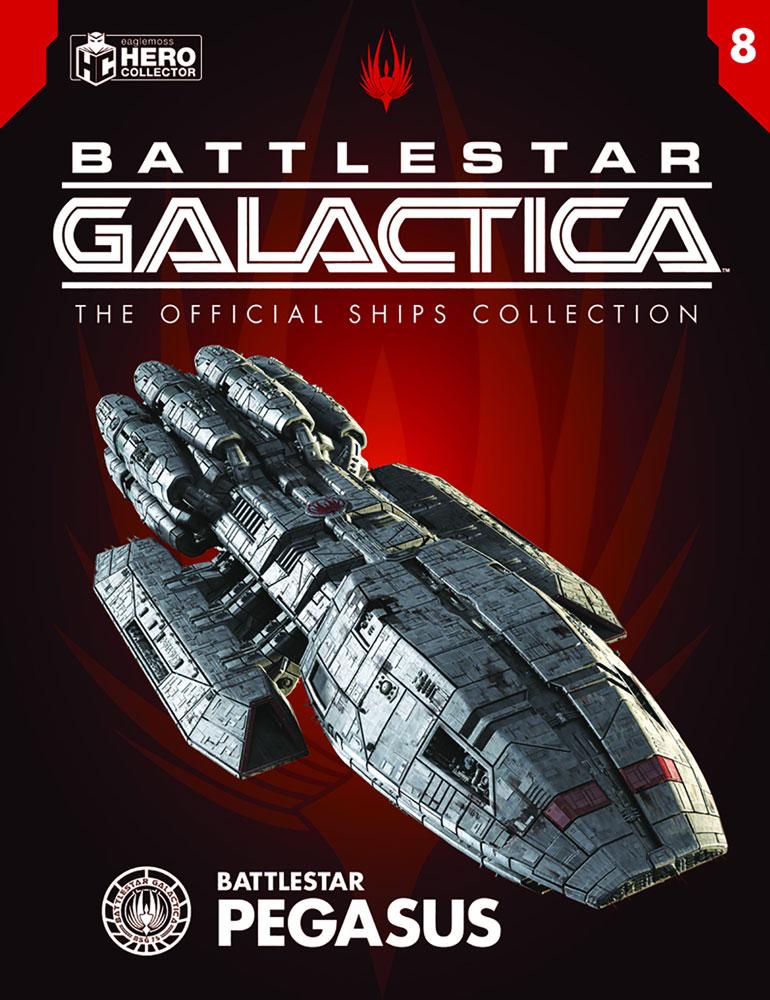 Battlestar Galactica Official Ships Collection: Battlestar Pegasus  - Eaglemoss Publications Ltd