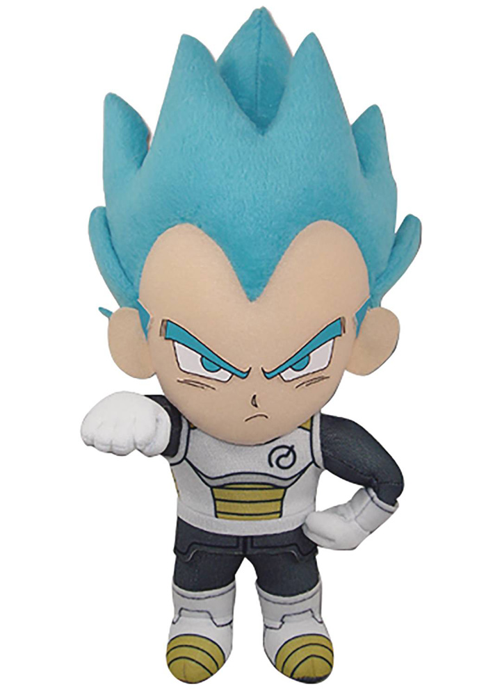 Image: Dragon Ball Super Plush: SS Vegeta  (8-inch) - Great Eastern Entertainment