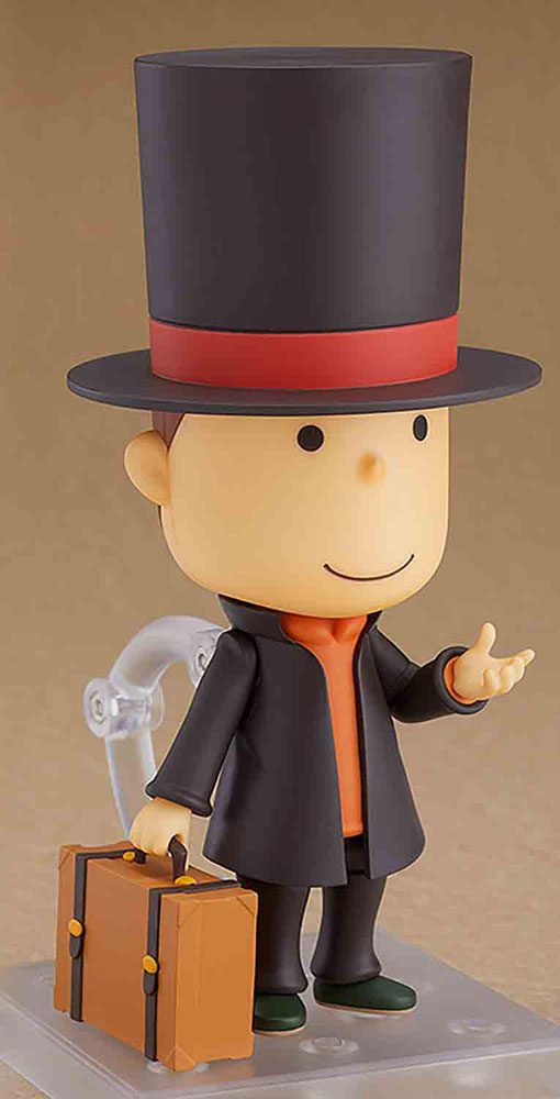 Layton Mystery Detective Agency Nendoroid Action Figure: Prof Layton  - Good Smile Company