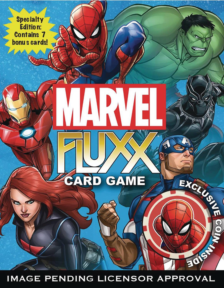 Image: Fluxx Special Edition Card Game: Marvel  - Looney Labs