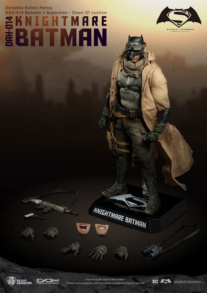 Batman v Superman Dynamic 8-ction Heroes Action Figure: Knightmare Batman  - Beast Kingdom