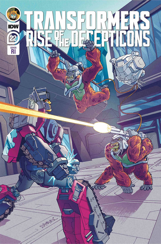 Transformers #22 (incentive 1:10 cover - Chan)  [2020] - IDW Publishing