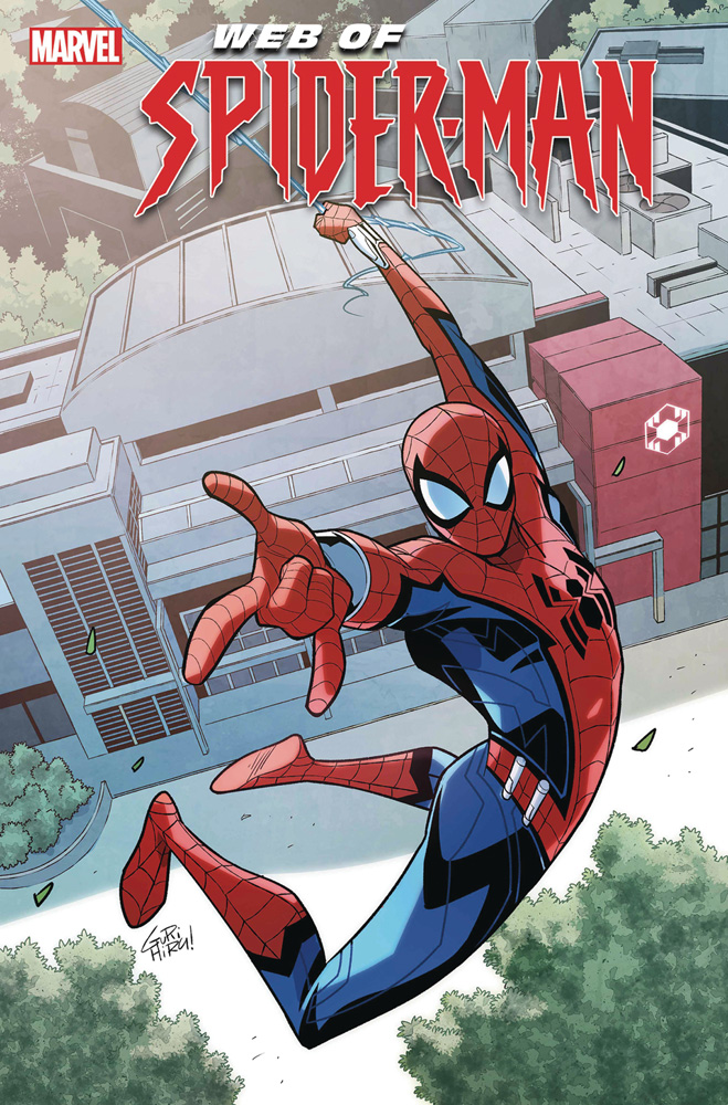 Image: W.EB. of Spider-Man #1 - Marvel Comics