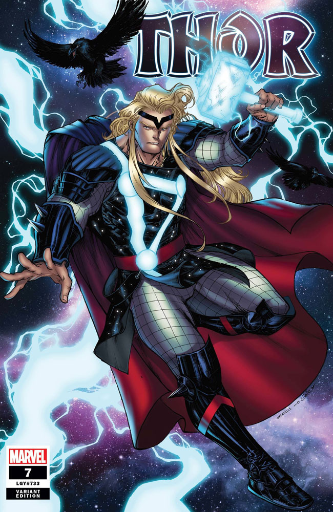 Image: Thor #7 (incentive 1:25 cover - Sharp)  [2020] - Marvel Comics