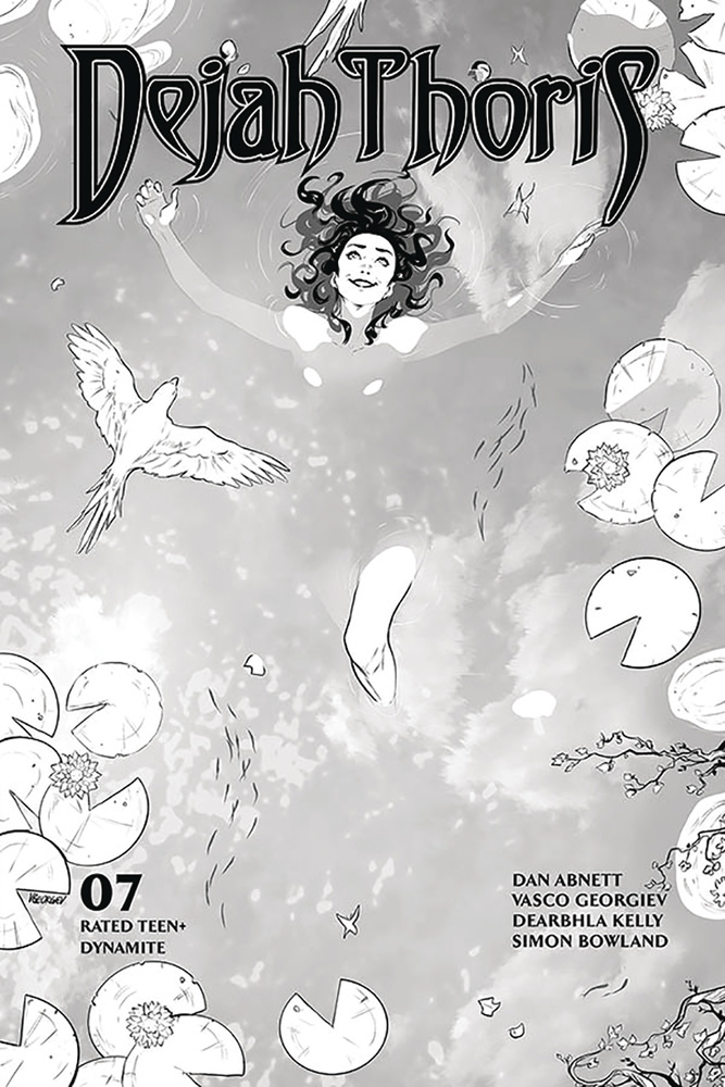 Image: Dejah Thoris Vol. 03 #7 (incentive 1:25 cover - Georgiev B&W)  [2020] - Dynamite