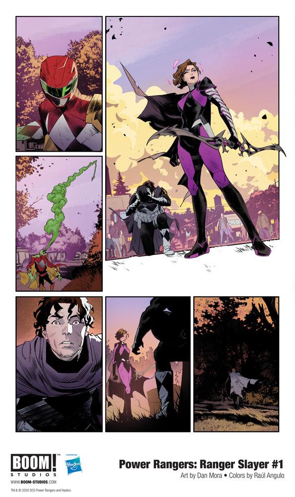 Power Rangers: Ranger Slayer #1 (incentive 1:10 cover - Mora)  [2020] - Boom! Studios