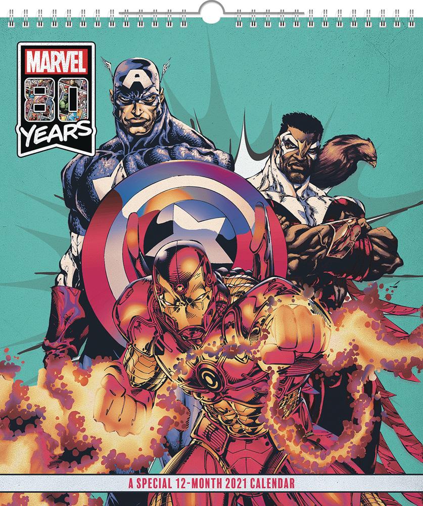 Marvel Comics Special Edition 2021 Wall Calendar   Westfield Comics