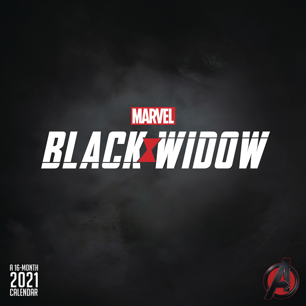 Marvel Black Widow 2021 Wall Calendar   Westfield Comics